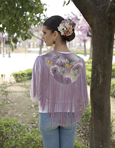 Mantoncillos de flamenca bordados online 💥