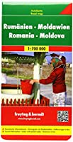 Romania - Moldova Road Map 1:700 000 (Road Maps)