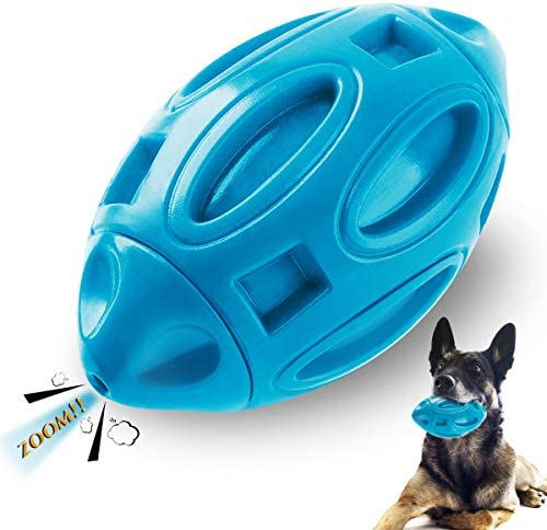 Ucio Squeaky Dog Toys Durable Rubber Dog Squeak Toy for Aggressive Chewers Almost Indestructible product image