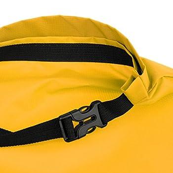 lahomia Sac Polochon Réglable de Sac de Compression de Tente pour Le Sac de Matériel de Montagne de Camping - Jaune, comme décrit