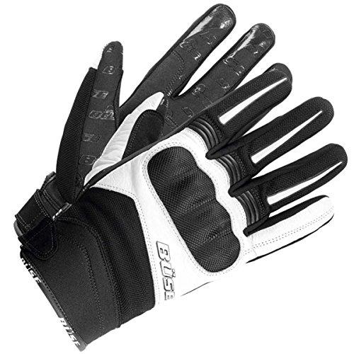Büse Open Road Evo Handschuhe, Farbe schwarz-Weiss, Größe 14