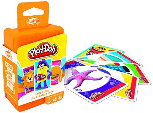 Shuffle Play-Doh Card Game