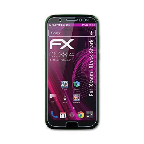 atFolix Glasfolie kompatibel mit Xiaomi Black Shark Panzerfolie, 9H Hybrid-Glass FX Schutzpanzer Folie