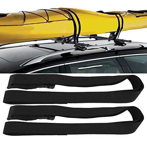 Fishawk Correa para portaequipajes, Correa Multifuncional para Kayak para automóvil, Tabla de Remo, Botes para Equipaje, Kayak, Tabla de Surf, Canoa de Uso repetido