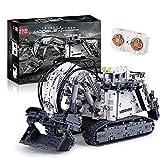 Bloques de construcción modelo excavadora técnica,4062 piezas 2.4G Excavadora Auto Ingeniería Motor Bloques construcción Juguetes construcción, Compatible con Lego Technic A,60 * 28 * 39cm