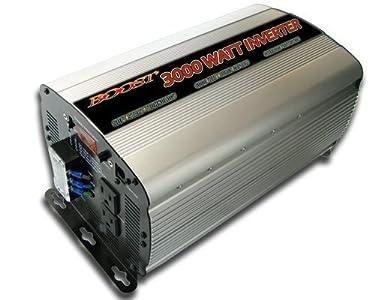 Boost 3000 W Continuous 6000 watt Peak 12v Dc to 120v Ac Car Truck Automotive Power Inverter