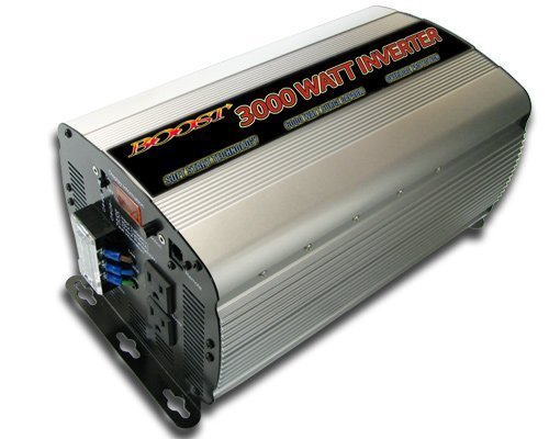 Boost 3000 W Continuous 6000 watt Peak 12v Dc to 120v Ac Car Truck Automotive Power Inverter