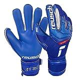 Reusch Attrakt Gold X Goalkeeper Gloves, Size 10, Blue/White