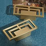 Muebles antiguos HandleCabinet perillas y tiradores Armario Armario cajón de la cocina Perilla de muebles