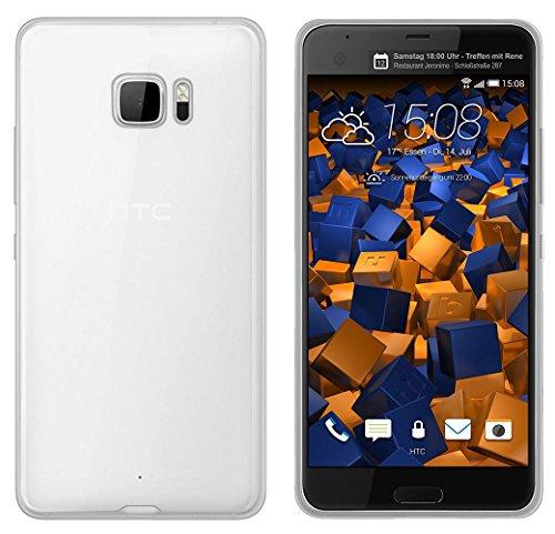 Sunrive Funda para HTC U Ultra/Ocean Note 5,7 Pulgadas, TPU Slim Fit Funda Gel Transparente Carcasa Case Bumper de Impactos y Anti-Arañazos Espalda Cover(TPU No Hay un patrón) + 1 x Lápiz óptico