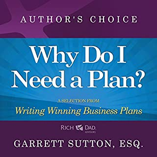 Why Do I Need a Plan? cover art