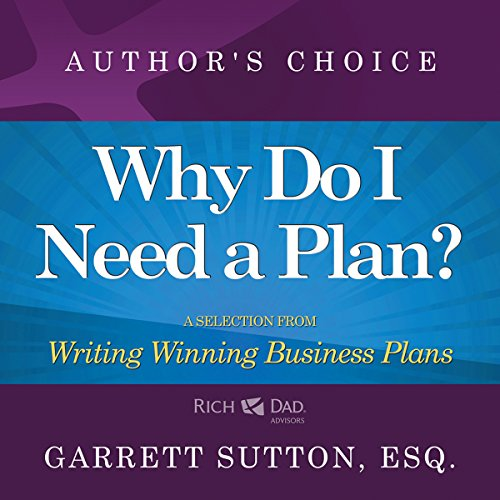 Why Do I Need a Plan? audiobook cover art