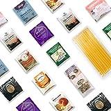Tummy Tamer Digestion Tea Kit - 40+ Servings Digestive Herbal Tea Bags Assortment with 10 Honey...