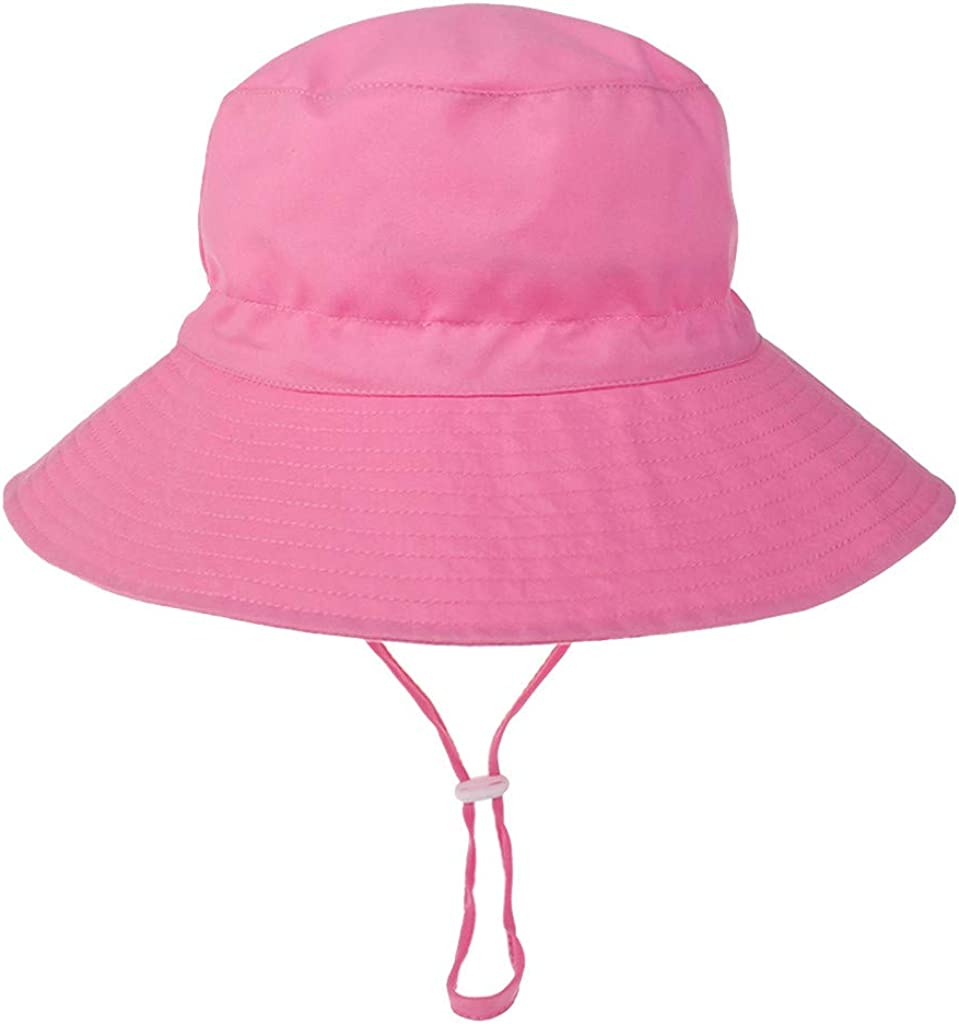 Sttech1 Adjustable Max 42% OFF Toddler Sun Wide Brim Protect Max 68% OFF Hat
