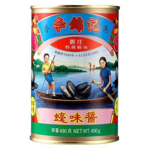 リキンキ オイスターソース 赤缶 490g