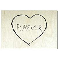 ポストカード 「板」 01 FOREVER