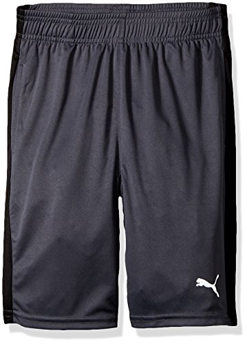 PUMA Big Boy's Puma Boys' Form Stripe Short Shorts, coal, Medium