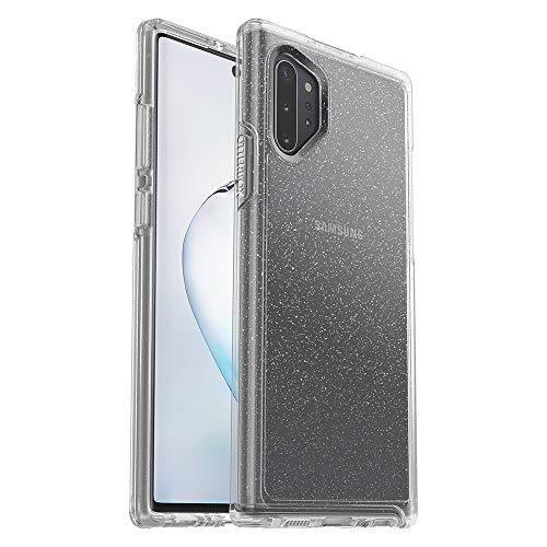 OtterBox Symmetry Clear Series Case for Samsung Galaxy Note10+ - Stardust (Silver Flake/Clear)
