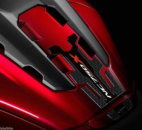 Tankschutz Sticker 3D kompatibel für NC 750 X Motorrad Honda NC750X 2016-2020