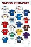 DFL 2. Bundesliga Magnetic Board - Update-Set Club Jerseys (2018-2019) -