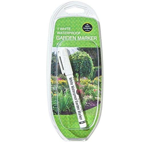 W0865 Garland Waterproof Garden Marker (1) (White)