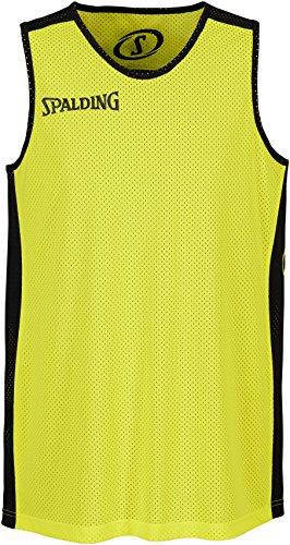 Spalding Bekleidung Teamsport Essential Reversible Shirt Herren, schwarz/Neon gelb, S