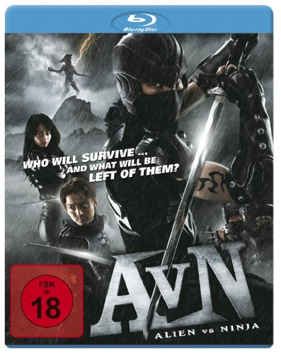 AvN: Alien vs. Ninja (Uncut) [Blu-ray]