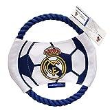 Real Madrid- Juguete de Cuerda para Perro, Color (CYP 1)