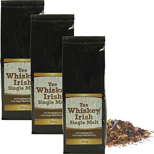 Tee schwarz Irish-Malt-Whiskey Tee 3er Vorteils-Pack Vegan BARRIQUE-Feine Manufaktur Deutschland 300g-Pack