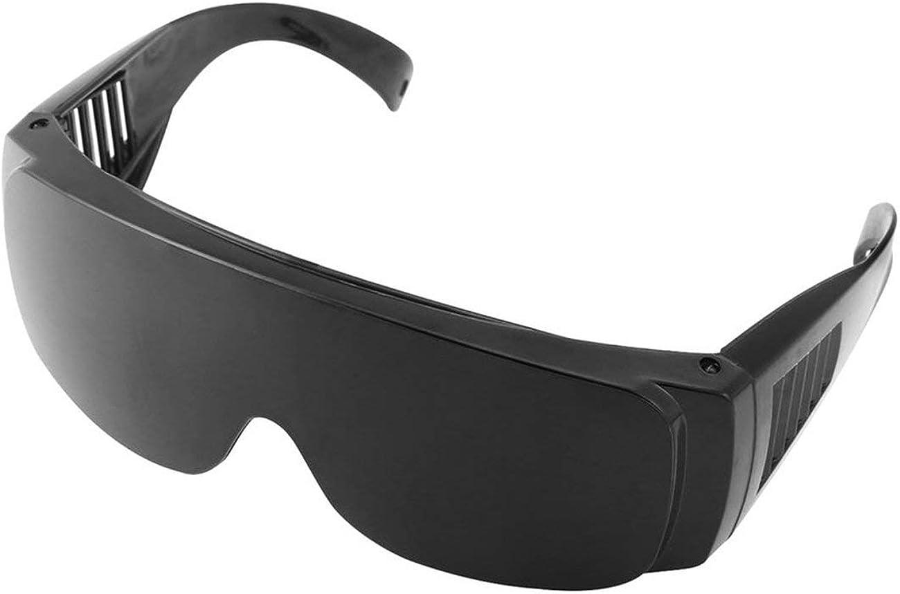 Ashley GAO Gafas de seguridad de protección contra el polvo Gafas de seguridad de soldadura OPT/E luz/IPL/Photon Beauty Instrument Red Laser Goggles