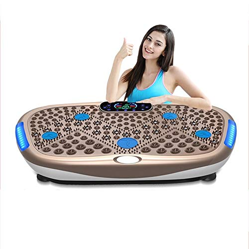 Buy X/L ABS Vibration Platform Machines,with Remote Control/Music Playback/Magnet Massage/Shiatsu ...