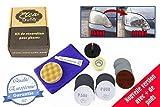 Eléa-Auto Kit de rénovation (Nouvelle Version) pour phares en Polycarbonate avec Adaptateur pour perceuse