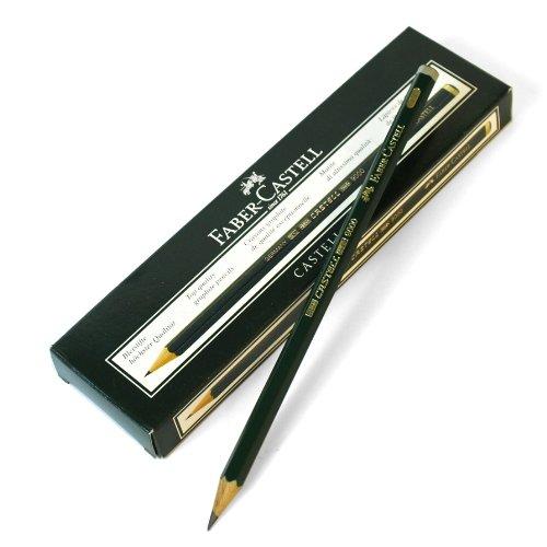 Bleistift Castell 9000 Härte 3B(Liefermenge=3)