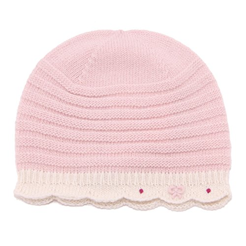 BABY T. 4382U cuffia bimba TOMAX misto cashmere rosa hat kid girl [I/34 CM]