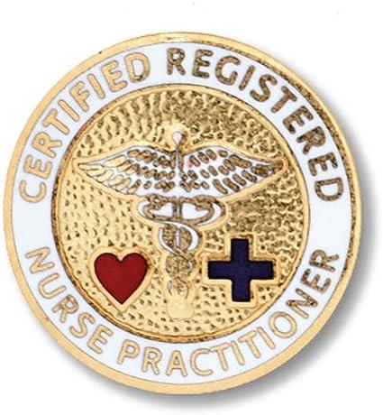 Prestige Medical Emblem Pin Licensed Practical Nurse Blue Cross
