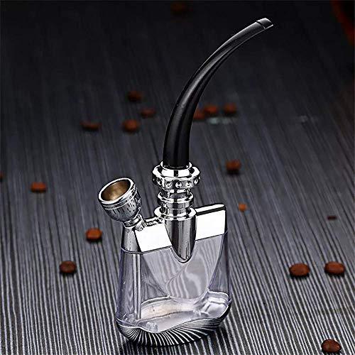 XBR Juego de cachimba, aleación de Zinc Shisha Hose Starter Series El diseño de Juego de Fumar de Doble propósito Puede Agregar Cubitos de Hielo y Diferentes Bebidas Mejor filtració