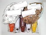 Kit da Caffè, 450 Bicchierini 80cc, 300 Zucchero e 150 Canna, 450 Palette - Dolci Aveja