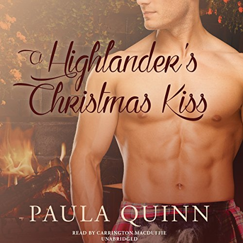 A Highlander's Christmas Kiss audiobook cover art