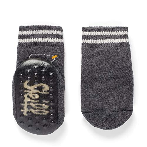 Steiff Baby-Unisex Socken, Grau (Dark Shadow 9004), 17 -18