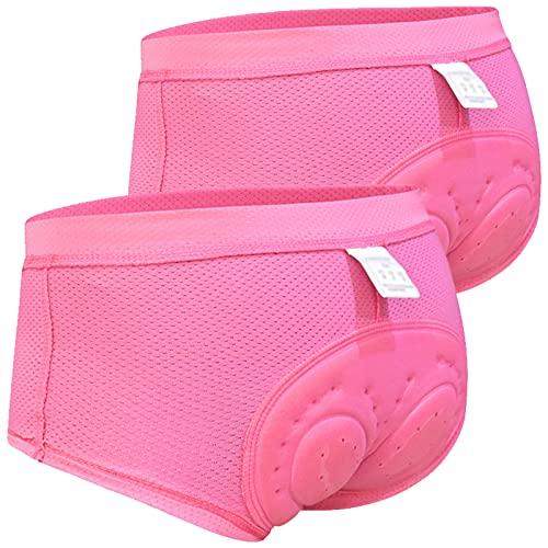 Calzoncillos Ciclismo Mujer,Secado Rápido Culotte Bike,Badana Ciclismo,Transpirable Culote Corto Ciclismo,3D Gel Cullote...