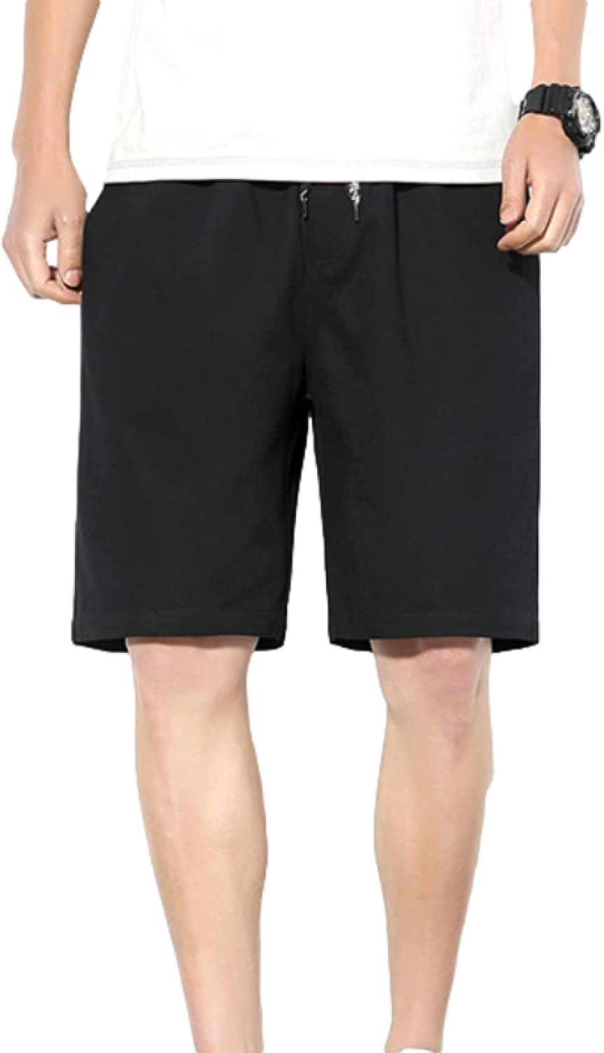 Segindy Men's Summer Shorts European and American Loose Outer Wear Comfortable