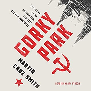 Gorky Park audiobook cover art