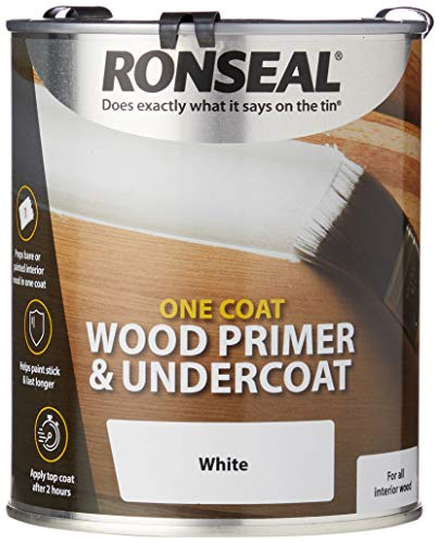 Ronseal Jeden płaszcz drewniany podkład i podkład 750 ml