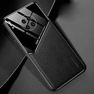 LENASH För Huawei Mate 30 Pro all-inclusive läder + ekologiskt glasskydd med metalljärn Fallskydd (Color : Black)