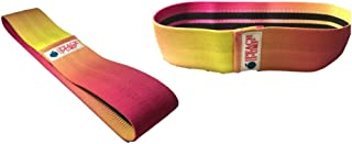 Peach Pump Resistance Band AntiSlip for booty Pump & leg workout - Rainbow Colors Exercise Resistance band for booty bulk,...