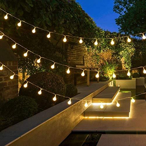 1 guirnalda de cuento de hadas luces de cadena de bola LED bombillas de luz de Navidad cadena de cuento de hadas luces decorativas cadena usb 10m100 leds