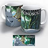 goatxa Princesa Mononoke-Taza