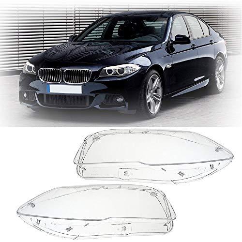 KWWBLX Auto Scheinwerfer Shell Clear Light objektiv Abdeckung rechts/Links für BMW 5 Serie f10 f18 520 523 525 535 530 2010 2014