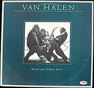 Eddie Van Halen & Alex Van Halen Signed Album Cover W/Vinyl #Q52103 - PSA/DNA Certified