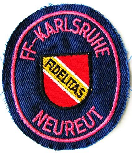 Freiwillige Feuerwehr Karlsruhe-Neureut - Fidelitas - Ärmelabzeichen - Abzeichen - Aufnäher - Patch